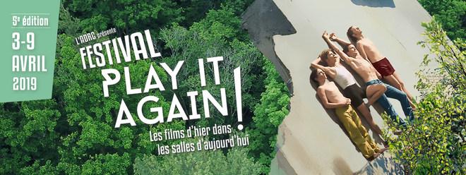Festival Play It Again au Cinéma Le Bretagne